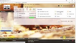 Yandex mail'de etiketler oluşturmak