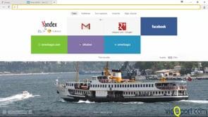 Yandex browser'da tablo özelliği ile çalışmak
