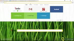 Yandex browser'da hava durumu ile çalışmak