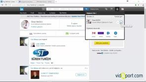 Linkedin kullanarak gelen davetleri kabul etmek