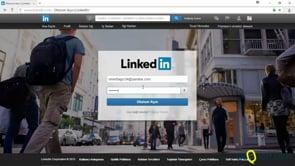 Linkedin'de iletişim bilgilerinizi tamamlamak