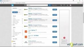 Linkedin'de iş ilanlarına bakmak