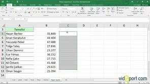 Excel'de benzer değerleri birleştirme-Birleştir Özelliği