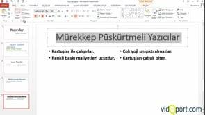 PowerPoint Slaytlar eklemek, silmek, yer değiştirmek