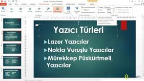 PowerPoint Slaytlarınıza animasyonlar eklemek
