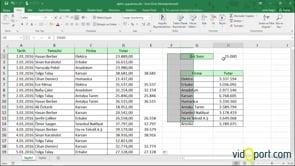 Şarta bağlı değerleri veri çubukları ile göstermek