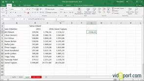 Excel'de Adres ve Dolaylı İşlevi nasıl kullanılır?