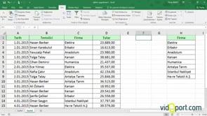 Excel 2010'da koşullu biçimlendirmeleri parametrik kullanmak