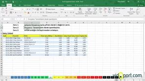 Excel Uygulama Soruları-12. soru ve çözümü