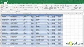 Excel'de Sorgu Oluşturup, Gruplama Özelliğini Kullanmak
