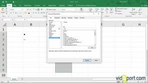 Excel'de Madde işaretli listeler oluşturmak