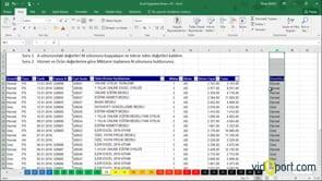 Excel Uygulama Soruları-13. soru ve çözümü