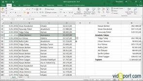 Excel'de hücre eklemede bu yöntemi biliyor musunuz?