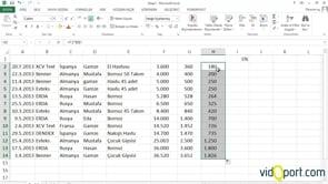 Excel'de başvuru türleri ve etkileyenleri bulmak
