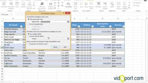 Excel'de Insan kaynaklarında Dashboard rapor sayfaları oluşturmak