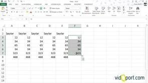 Excel'de Toplam almada kullanılan 6 farklı yöntem