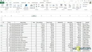 Hesaplanmış alan verileri eklemek