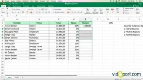 Excel'de hangi başvuru türleri kullanılır?