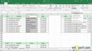 Excel'de verileri, biçimleri temizlemek için temizle düğmesini kullanmak