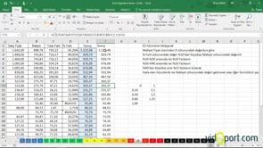 Excel Uygulama Soruları-20. soru ve çözümü