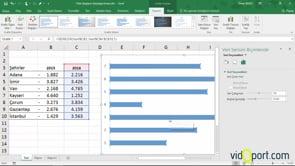 Excel'de Tornado Grafikleri nasıl yaratılır?