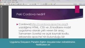 Mobile Notification (Bildirim)