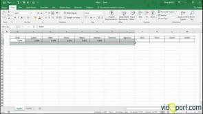 Yataydaki verileri dikeye almak için İndis ve satır işlevin kullanma