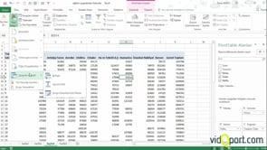 Excel'de Sorgu Özellikleri ile Haftalık Satışları Bulmak