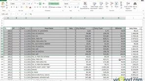 Kopyaladığınız verilerin sütun genişliklerini yapıştırırken korumak