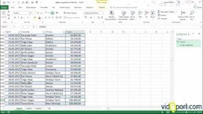 Excel'de Sorgu Ekranları ile en yüksek 5 satış değerini bulmak