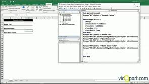 Excel Objeleri- Range Objesi