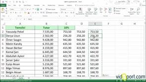 Excel'de formülleri değer olarak yapıştırmada kullanılan 3 farklı yöntem