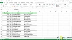 Excel Sorgu ekranlarında Text.Upper fonksiyonunu kullanmak