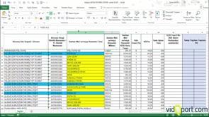 İndirimli oranda satışlara ilişkin satış faturası listesi oluşturmak