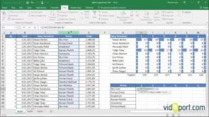 Excel'de ÇOKEĞERSAY fonksiyonu ile Aylık satış sayılarını bulmak