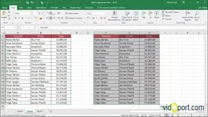 Excel'de sütun genişliklerini koruyarak, yapıştırma - 3 yöntem