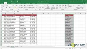 Excel'de Sütunları taşıma yöntemleri