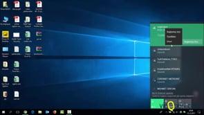 Windows'da Kablosuz Ağlara bağlanmak ve Kablosuz ağ ayarları ile çalışmak