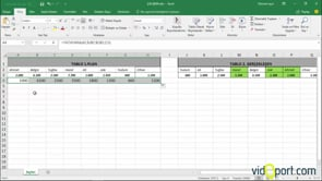 Excel'de Yatayara İşlevi ile yataydaki verileri aramak