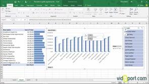 Pivot Table ve Conditional Formatting kulanarak verilerin raporlarını oluşturmak