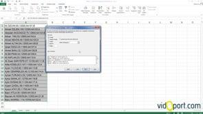 Excel'de Metni Sütunlara Bölmek
