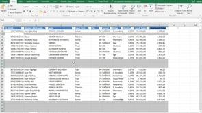 Excel dosyalarınızda boş olan hücrelerin satırlarını seçmek