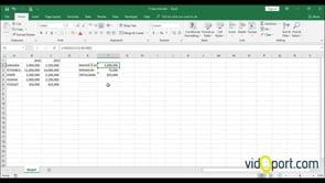 Excel'de Dizileri Kullanarak En büyük ve En düşük değerleri bulmak