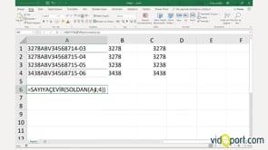 Metin görünümündeki sayıları, sayı formatına çevirmek