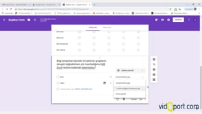 Örnek Google Form Uygulaması - 1. Bölüm