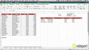 Excel 365 Filtre İşlevinin kullanımı