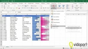 Excel Koşullu Biçimlendirme'de Veri Çubuklar