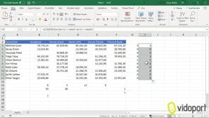Excel'de Çokeğersay işlevinin kullanımı