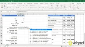 Excel'de tarihin haftanın hangi günü olduğunu bulmak-Haftanıngünü işlevi