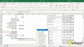 Excel Tamişgünü işlevini kullanmak- iki tarih arasındaki iş günü sayısını bulmak
